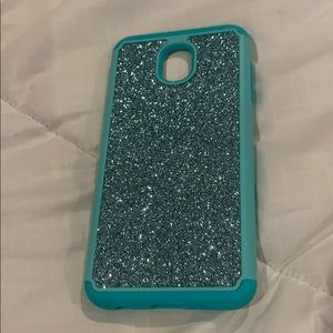 Accessories - J7 2018 cell phone case sparkle bling